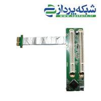 PCI-E express X1 to dual PCI riser card
